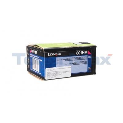 LEXMARK CX510 TONER CARTRIDGE MAGENTA RP 3K